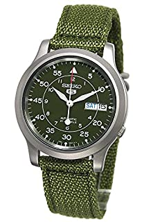 Seiko Men's Analogue Automatic Watch with Textile Strap - SNK805K2 (B000LTAY1U) | Amazon Products