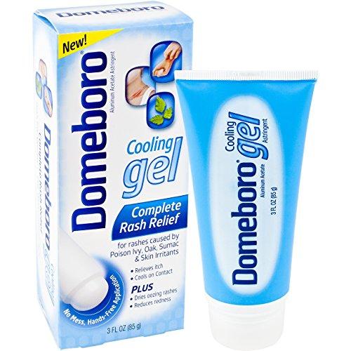 Domeboro Cooling Gel  Complete Skin Rash Relief 3oz