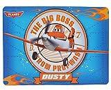 Unterlage - Disney Planes - Flugzeuge Dusty - 44 cm * 31 cm - Tischunterlage / Platzdeckchen / Malunterlage / Knetunterlage / Eßunterlage - für Kinder Jungen Flugzeug Boss / kleine Schreibunterlage