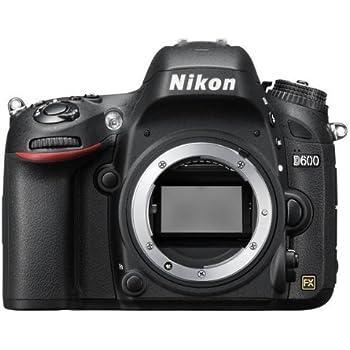 Nikon D600 Appareil photo numérique Reflex 24.3 Boîtier nu Noir
