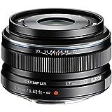 Olympus M.Zuiko Digital 17mm 1:1.8 Pancake Objektiv schwarz