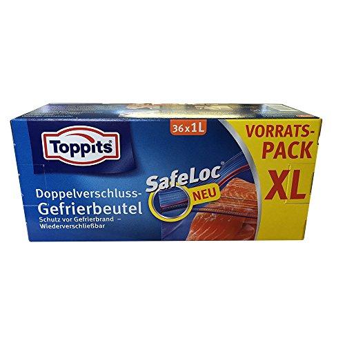 toppits-safeloc-doppelverschluss-gefrierbeutel-xl-vorratspack-36x1l-beutel-auch-als-flughafenbeutel