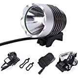 CREE XML XM-L T6 LED 1800 Lumens Cycle Bike Bicycle Rechargable Head Lights Lamp