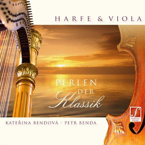CD Perlen der Klassik: Von Barock bis Romantik mit Harfe und Viola.