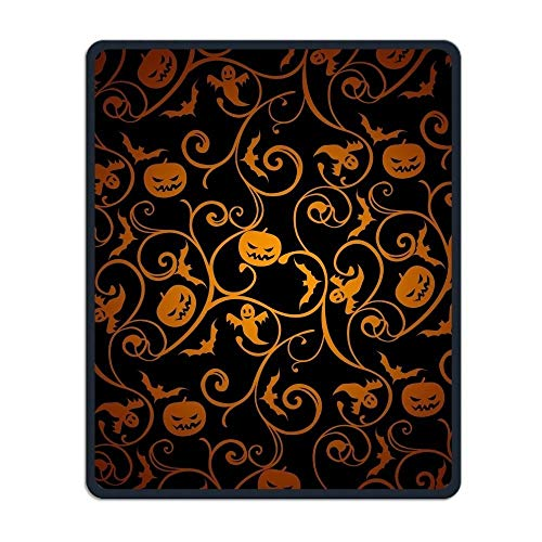 dauerhafte Halloween - Muster erstellen - Mousepad Wasserdichte Maske und Schwarzen Anti - Rutsch - Basis Forschung Spielen Männer und Frauen für Das Amt Mousepad ()