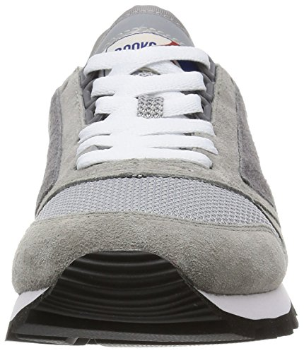 BROOKS W CHARIOT ATHLETICGREY/WHITE Athletic Grigio/Bianco