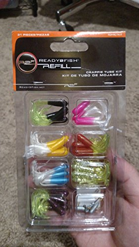 Ready 2Fische R2F Crappie Tube Kit fishing-equipment