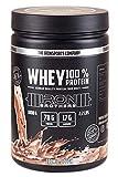 IRON BROTHERS® - WHEY 100% PROTEIN   Low Carb Eiweißpulver aus Whey Protein Konzentrat   Deutscher Molke Protein Shake +L-Glutamin & Aminosäuren   1000g Dose   MADE IN GERMANY (Cookie Dough)
