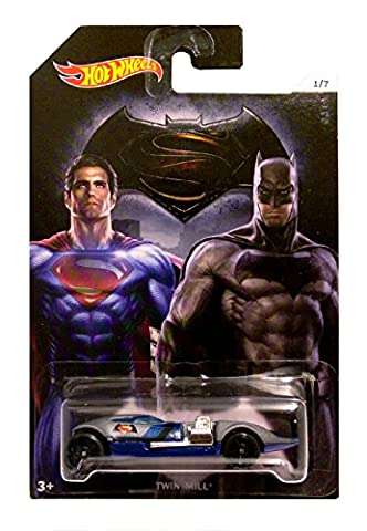 Hot Wheels - Batman vs Superman Dawn of Justiciers - Double Filature (Long Carte)