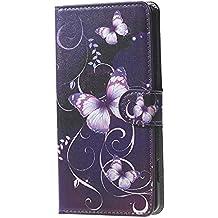 Doogee X5 Carcasa de Cuero-PU Cuero Cartera [Book-Style] Funda Carcasa de Piel para Doogee X5/X5 Pro Flip Case Cover