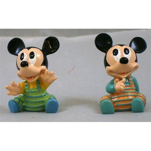 Bomboniera topolino mickey baby disney resina colorata lucida altezza cm. 4 - p044700