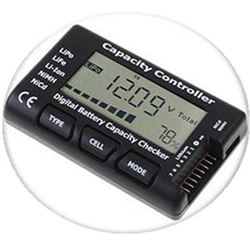 Preisvergleich Produktbild Merssavo Intelligente digitale Kapazität Checker Indikator Volt Batterietester