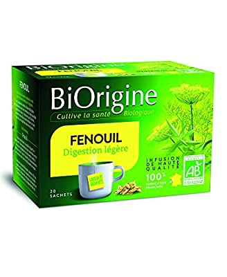 BiOrigine Infusion Fenouil 44 g - Lot de 6