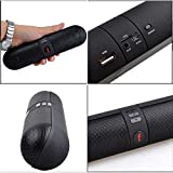 #10: Samsung Galaxy Tab E 9.6 Compatible Bluetooth Capsule ( Pill ) speaker with FM | Pendrive SD card input | MP3 music player | Portable Device | Handsfree | Mic | Stereo speaker | mini speaker | High Definition Audio With Android Devices capsule pill car outdoor speaker By HIMTRONICS