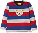 Steiff Baby-Jungen 1/1 Arm Sweatshirt, Mehrfarbig (Y/d Stripe|Multicolored 0001),74