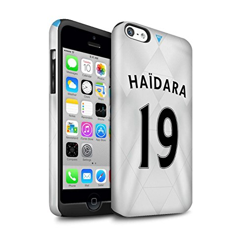 Offiziell Newcastle United FC Hülle / Glanz Harten Stoßfest Case für Apple iPhone 5C / Pack 29pcs Muster / NUFC Trikot Away 15/16 Kollektion Haïdara