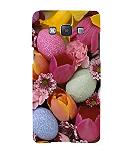 iFasho Bunch of Diffrent Flower Back Case Cover for Samsung Galaxy A5