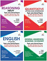 Topic-Wise Solved Papers for IBPS/SBI Bank PO/Clerk Prelim & Main Exam (2010-19) Reasoning/Quantitative Ap