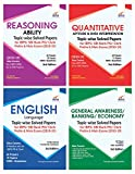 Topic-Wise Solved Papers for IBPS/SBI Bank PO/Clerk Prelim & Main Exam (2010-19) Reasoning/Quantitative Aptitude/English/General Knowledge