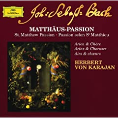 "J.S. Bach: St. Matthew Passion, BWV 244 / Part Two - No.75 Aria (Bass): ""Mache dich, mein Herze, rein"""