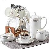 TLMYDD Europäische Keramik Kaffeetasse Handgemacht Kaffeeprodukte (Farbe : B)