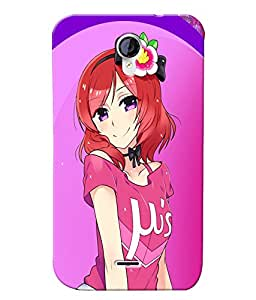 Fuson 3D Printed Girly Designer back case cover for Micromax Unite 2 A106 - D4609