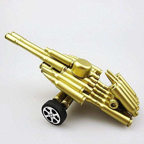 Pistole Bullet Shell Militärische Kanone Modell Handgemachte Metall Artwork Home Living/Study Room Dekorationen Geschenk Kinder Modell Spielzeug -