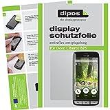 dipos I 2X Schutzfolie matt passend für Doro Liberto 825 Folie Bildschirmschutzfolie