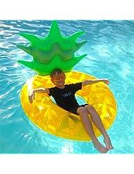 ab477fb7eec1 SUMME Adulto Gonfiabile Pineapple Nuoto Gigante Piscina Giocattoli di Nuoto  Anello Gonfiabile Materasso ad Aria Acqua