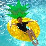 SUMME Adulte Gonflable Pineapple de Natation Géant Piscine Jouets De Natation Anneau Gonflable air Matelas d'eau Mer Plage Adultes île Flottante