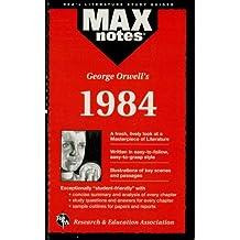 1984 (MAXNotes Literature Guides)