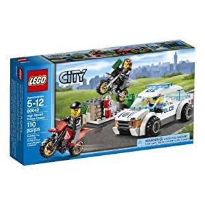 LEGO City Police 60042 High Speed Police Chase by LEGO City Police TOY (English Manual)