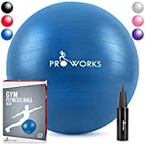 Proworks Gymnastikball [65cm] Heavy Duty Sitzball