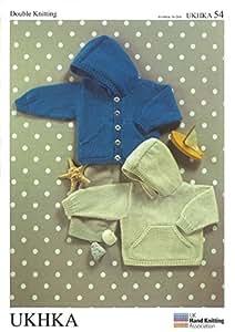UK Hand Knit Association Baby Knitting Pattern - UKHKA\54