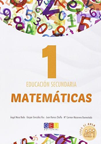 Matemáticas - Libro de Texto - 1º de la ESO (Temario Unidad 1. Sistemas de numeráción. Números naturales. Divisibilidad. Unidad 2. Números enteros. Potencias y raíces.)