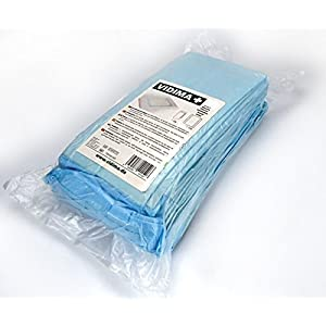VIDIMA Inkontinenzunterlage 40×60 cm in verschiedenen Mengen | 6-lagige Einmal-Krankenunterlage aus Zellstoff bei Inkontinenz & Blasenschwäche | unterverpackte Bettunterlage für Krankenhäuser