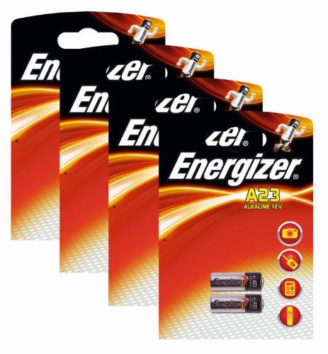 Energizer 629564SET Original Spezialbatterie Alkali Mangan A23 (12 Volt, 4x 2-er Pack)