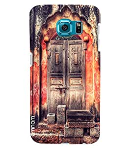 Omnam Beautiful Door Of Acient Looks Desinged Back Cover Case For Samsung Galaxy S7