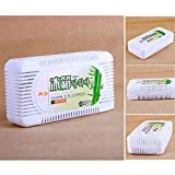 #6: EasyBuy India Jasmine : 3 Fragrance Household Fridge Refrigerator Air Purifier Activated Bamboo Charcoal Refrigerator Deodorant Box Odors Smell Remover