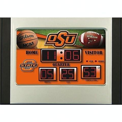 Oklahoma State Cowboys Scoreboard Desk Clock by Team Sports America