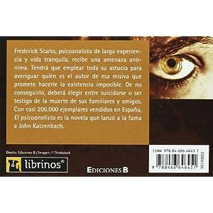El Psicoanalista (LIBRINOS.)