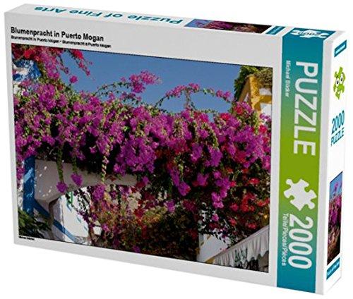 Preisvergleich Produktbild Blumenpracht in Puerto Mogan 2000 Teile Puzzle quer (CALVENDO Orte)