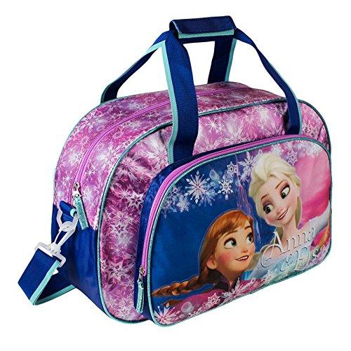 Frozen Bolsa de Deporte Infantil, Color Morado