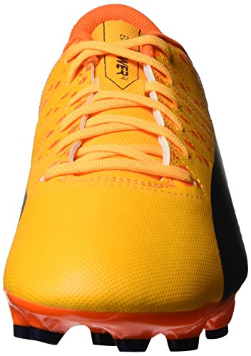 Puma Evopower Vigor 4 Ag, Chaussures de Football Homme Orange (Ultra Yellow-Peacoat-Orange Clown Fish 03)