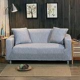 LYIKAI Sofabezug Gewirke Ecksofa Abdeckung Universal Stretch Möbel Decken Dekoration Sofa Sofa, 90 * 140 cm