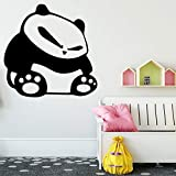 58 * 58cm Hot Sale Panda Waterrepous Wall stickers Wall Art Decorations Living Room Home Party Decor Wallpaper