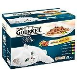 Gourmet Perle Zarte Fleisch Duo Tasche 12x 85g