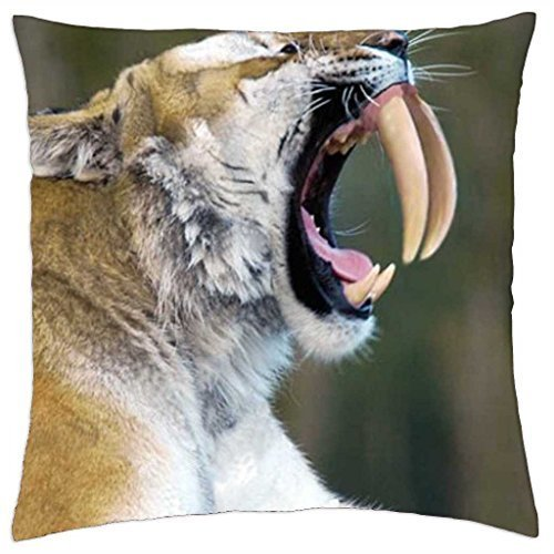 Sabretooth Cover (sabretooth tiger - Throw Pillow Cover Case (18)
