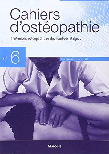 Traitement ostopathique des lombosciatalgies