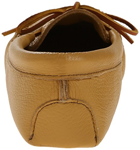 Minnetonka Double Deerskin Softsole 816, Mocassins Homme Beige (Natural)